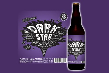 R&B Dark Star Oatmeal Stout 4.6%