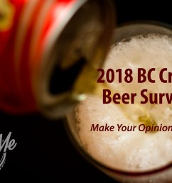 6th annual beer me bc craft beer survey released [ 1600 x 1067 Pixel ]