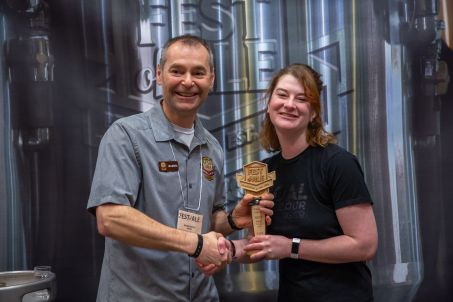 Judges Choice Best Amber: Dark Ale Smoke & Mirrors – Coal Harbour Brewing, Vancouver BC