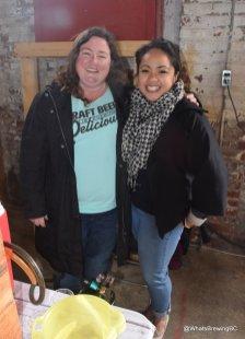 VBW Director Sheleena Gutierrez, with Lori