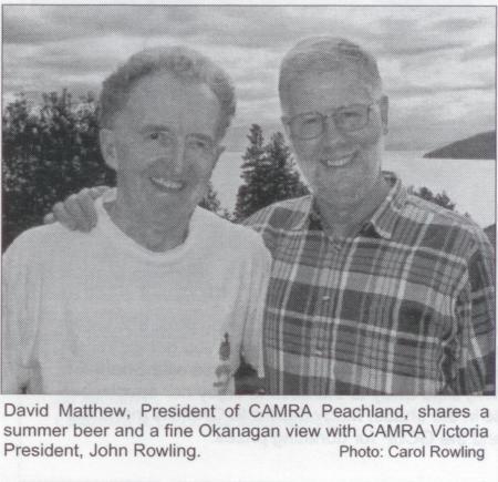 CAMRA Peachland / Okanagan Sep/Oct 2001