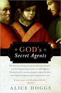 Cover of God's Secret Agents by Alice Hogge