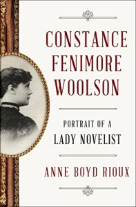 """The cover of the biography of CFW features the profile photo of the author surrounded with a gold """"frame"""" as if an old-fashioned miniature painging, and the book is framed on the spine by a wood-and-gold picture frame."""
