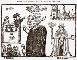 Mother Shipton and Cardinal Wolsey