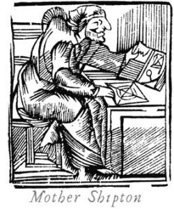 Engraving of Mother Shipton