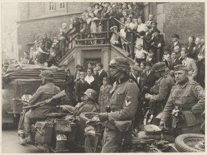 German troops at Grote Markt