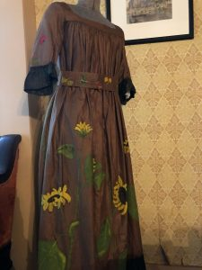 Orchard House Hand-painted dress by May for a costume