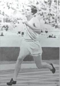 Helen Stephens at 1936 Olympics