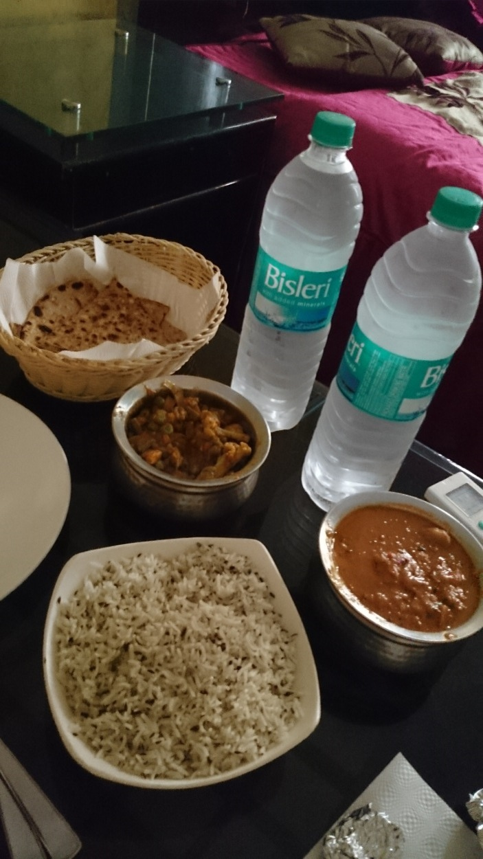 First Meal in Delhi