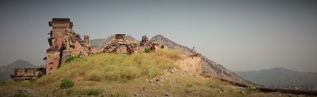 Amber Fort Old Ruins