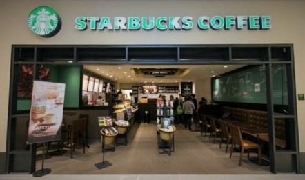 Starbucks in Shopping Sao Paulo Cidade