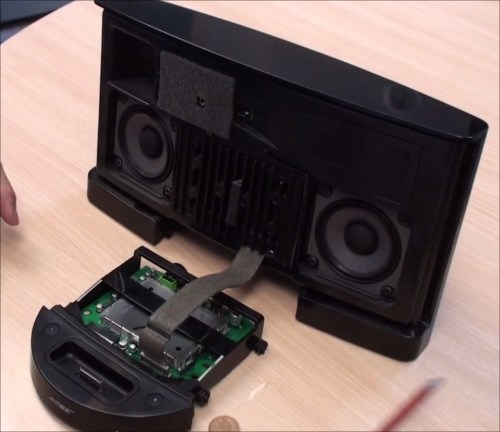 small resolution of photo gallery of sounddock ii internal components bosedocksounddock