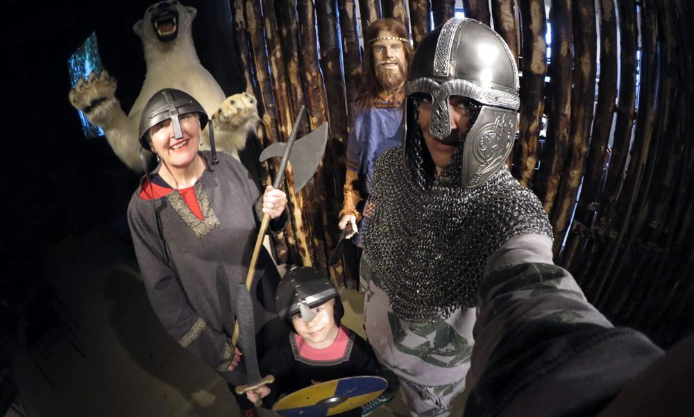 Saga Museum - Exhibitions in the old harbour in Reykjavik, Iceland
