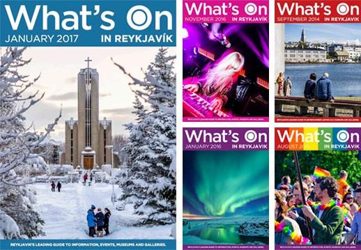 What's On in Reykjavík Magazine - Iceland Tourist Information