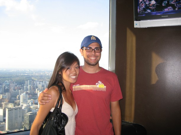On the CN Tower