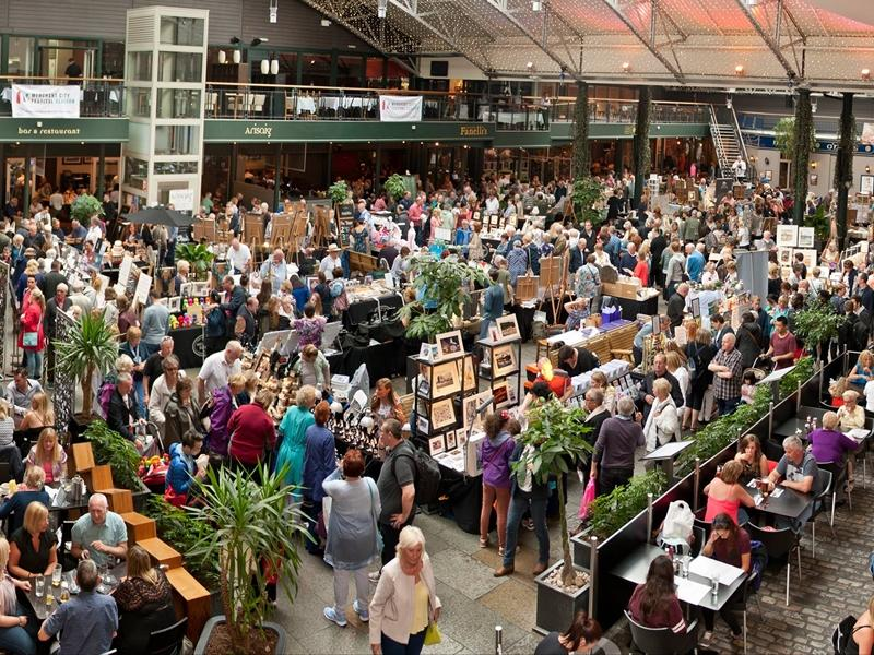 Merchant Square Craft & Design Fair en Glasgow