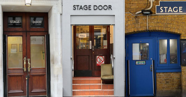 A few stage doors