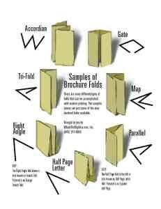 Brochure Design Folds