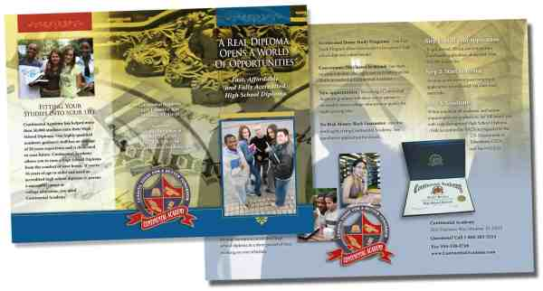 School-brochure-design - Web Development And Design