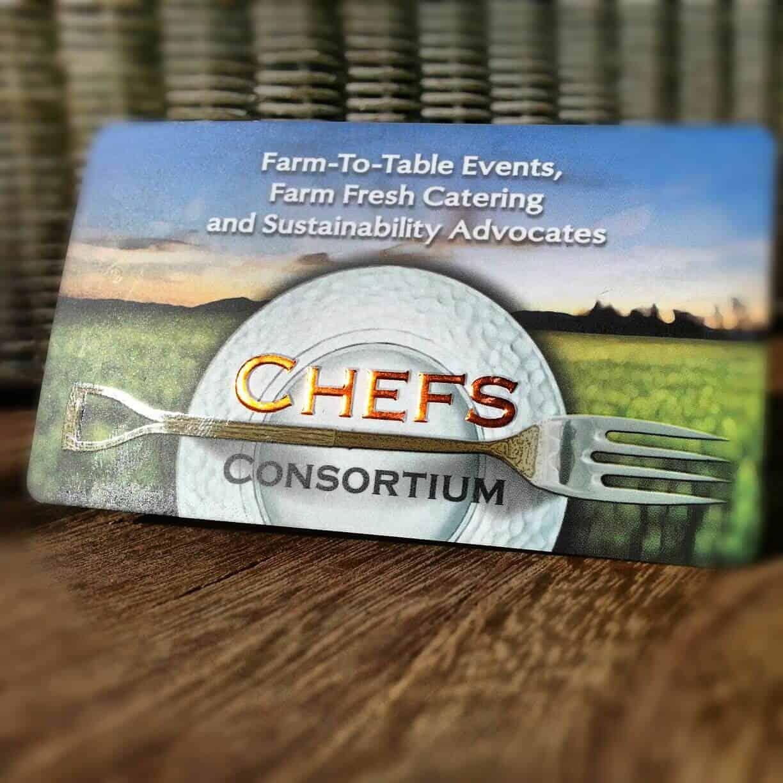 Business card design whatsthebigidea inc chefs consortium business card design magicingreecefo Choice Image
