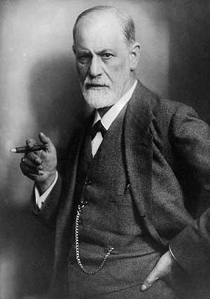 Photo of Sigmund Freud.  A lot of Freud's work is considered to be pseudoscience.