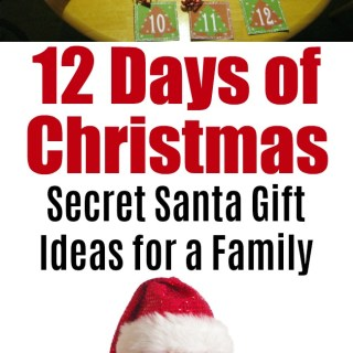 12 days of christmas gift ideas secret santa lds | Mormon | Holiday