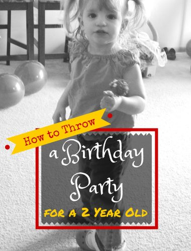 Some very helpful tips on how to plan a party for a 2 year olds birthday. Very helpful! | whatsupfagans.com