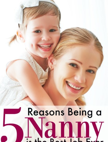 Yes! You learn so much being a nanny and it is really is such a great job to have before having your own kids.