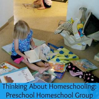 Doing Preschool at Home
