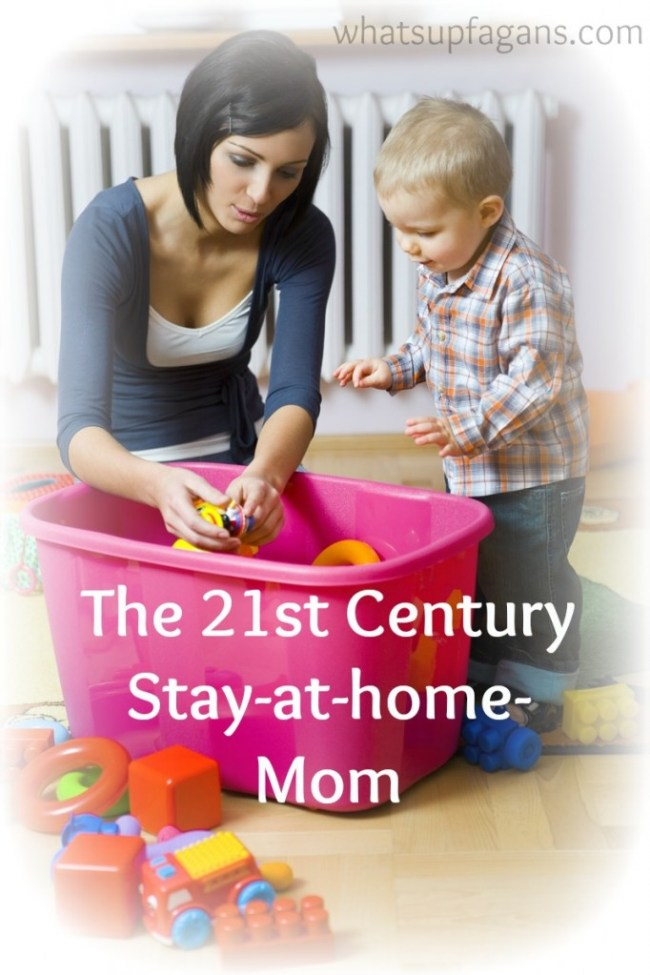 21st Century stay at home moms