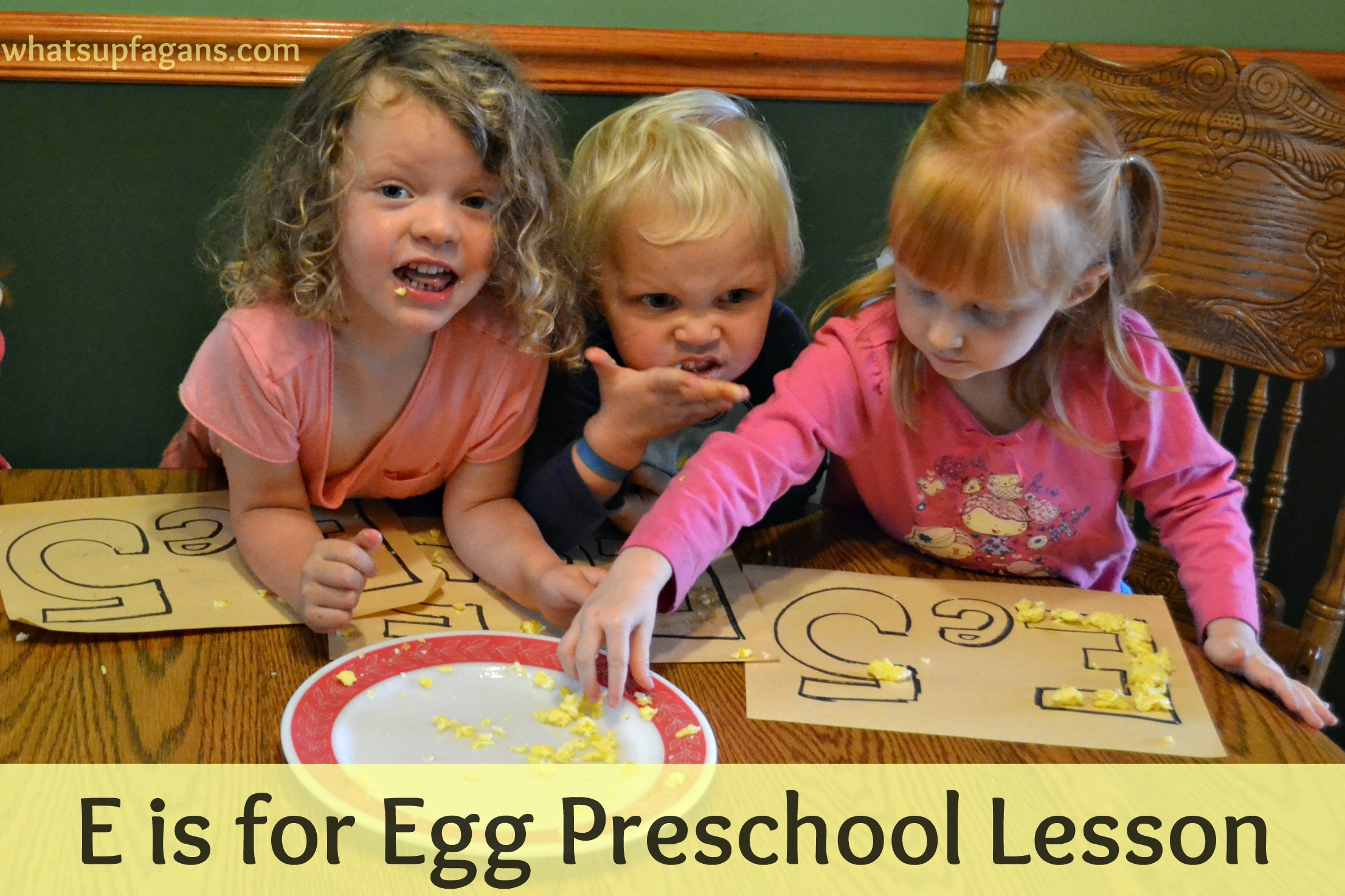 E Is For Egg Preschool Lesson