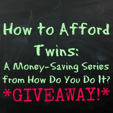 How to Afford Twins Giveaway