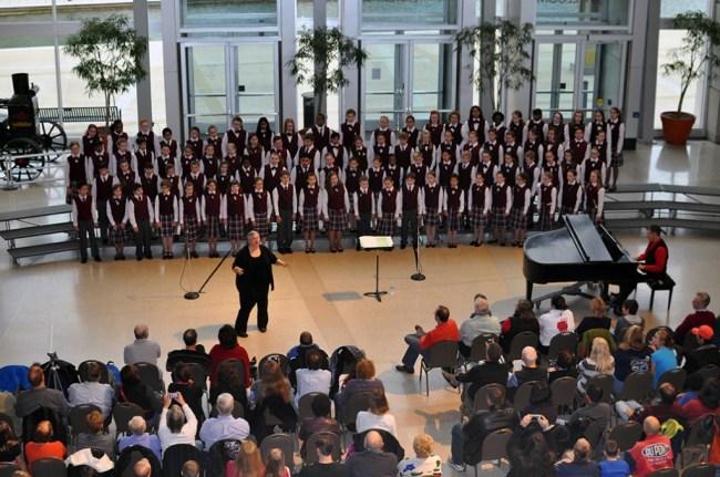 Indianapolis Children's Choir at #ISMCelebration