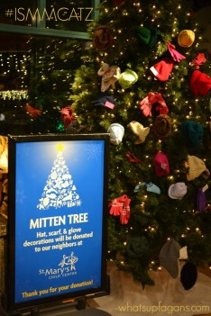 Christmas at the Zoo in Indianapolis - Donate to the Mitten Tree and get a discount on admission! whatsupfagans.com #ISMMCATZ