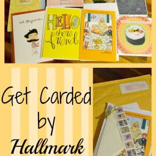 Get Carded by Hallmark - Touch someone today by sending them a card!