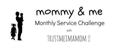 Join the Mommy and Me Service Challenge!