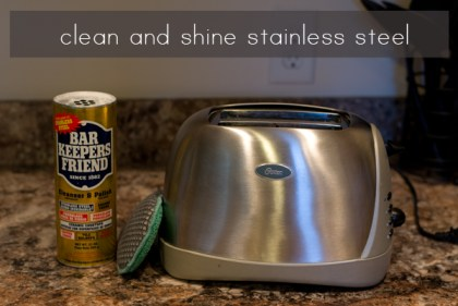 Spring Clean-Stainless-Steel