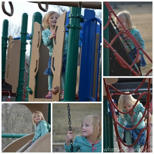 Lili at the Park