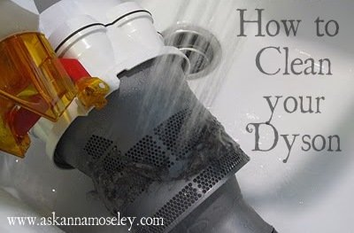 how to clean your dyson vacuum
