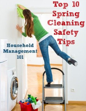 spring-cleaning-safety-1 - Household Management 101