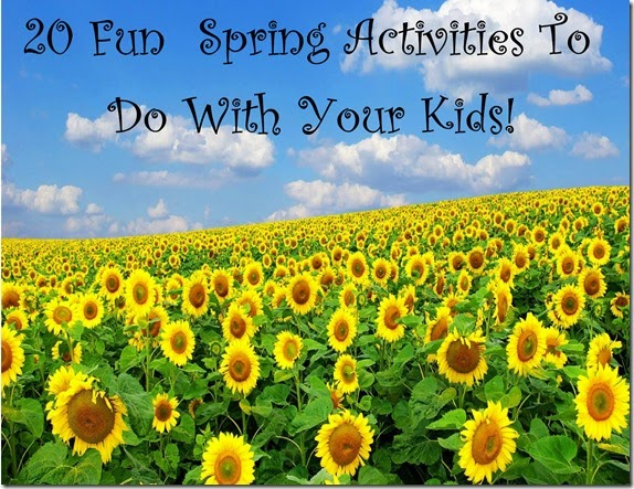 20 fun spring activities