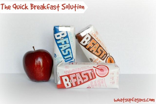 Need a quick breakfast solution? Grab a General Mills BFAST breakfast shake!