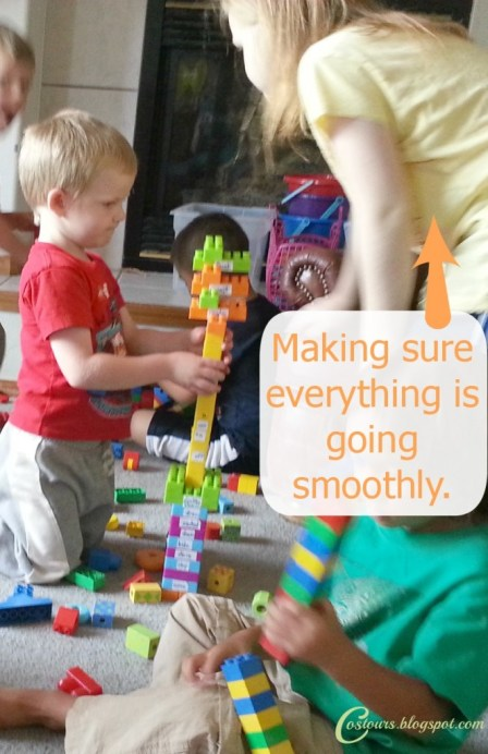 Instill the value of cooperation in your kids, as they have to work together to plan Birthday parties for each other!