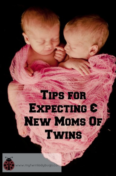 tips for expecting and new moms of twins