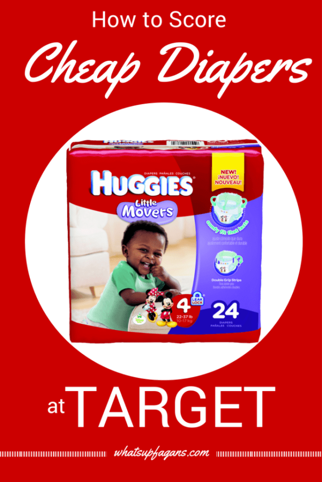 Diapers are expensive, so it's awesome to know how I can score cheap diapers at Target! #MC #MovingMoments #sponsored