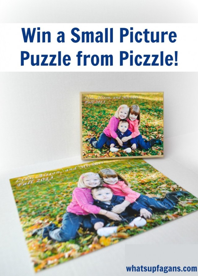 Enter to win a Small Picture puzzle from Piczzle! This would make such a great gift!