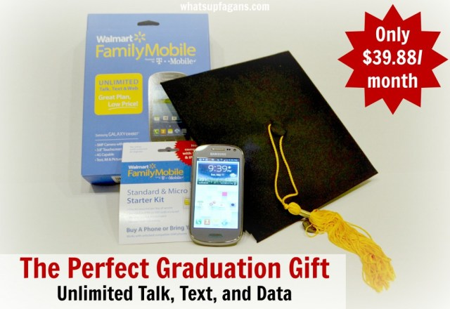 For only $39.88/month the Walmart #FamilyMobile is perfect for a graduation gift. #collectivebias #shop
