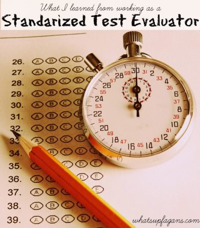 Not many people actually get to see the standardized tests that students take each year. This woman worked as a test evaluator and got a grader's perspective. Interesting read.