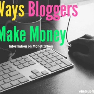 If you want to know how you can make money blogging, this is a great resource on how to monetize your blog with links to great companies to work with too!