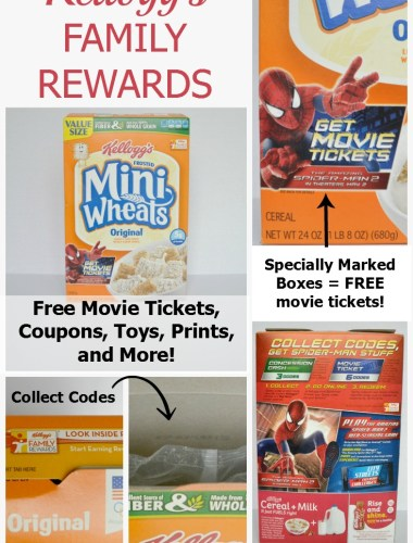 Enter codes from specially marked Kellogg's items and get awesome rewards!